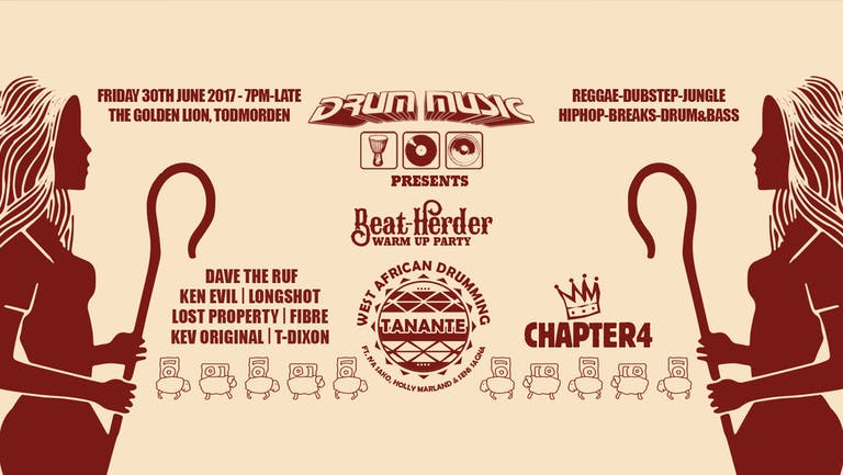 Drum Music BeatHerder Warmup Party