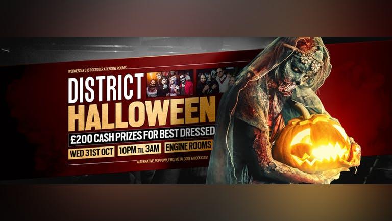 DISTRICT Southampton // Halloween Party 2018