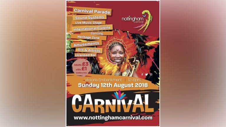 Nottingham Carnival 2018