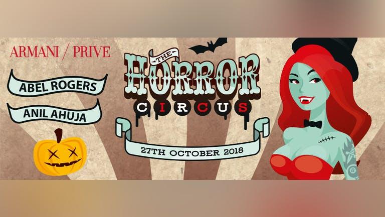 The Horror Circus at Armani/Privé