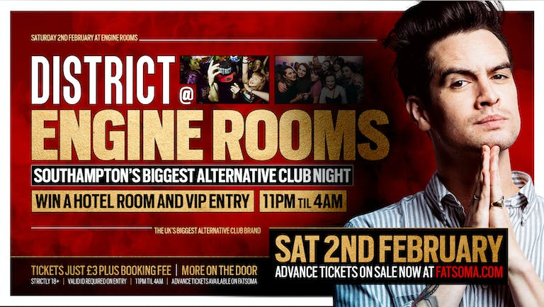 DISTRICT Southampton // The Big Alt Refreshers Party // Engine Rooms