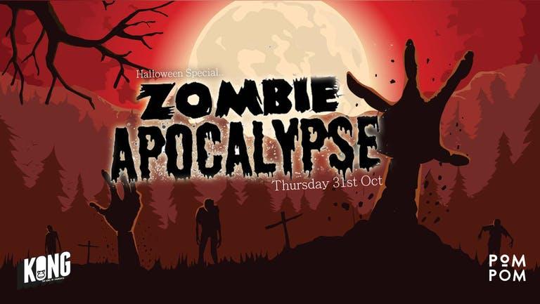 Pom Pom Halloween | Zombie Apocalypse