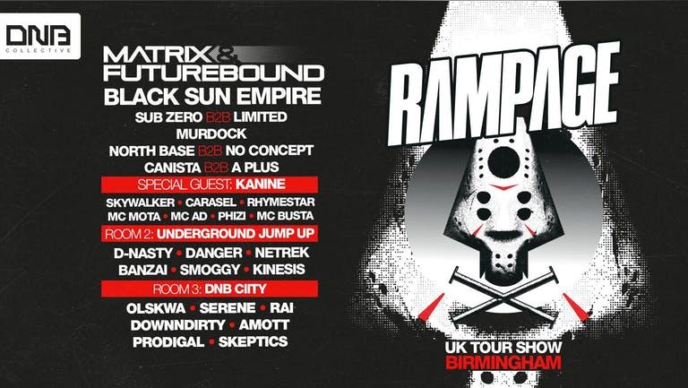 DNB Collective invites Rampage : Birmingham