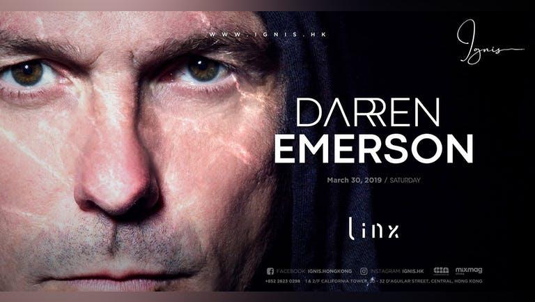 Ignis presents Darren Emerson   30 MAR 2019 (Saturday)