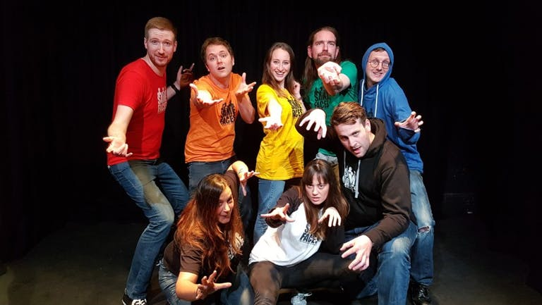 The Same Faces : Improvised Comedy