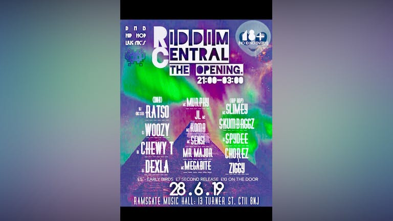 Riddim Central - Opening Party