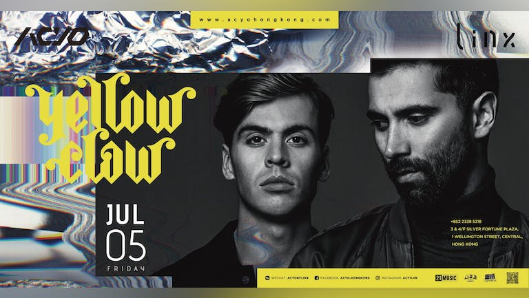 Acyo by Linx presents Yellow Claw