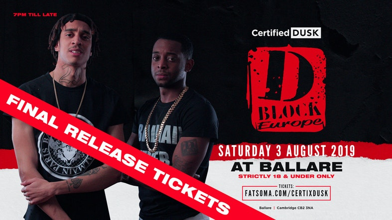 Certi X Dusk D Block Europe Live At Ballare Cambridge On 3rd