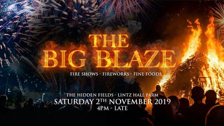 The Big Blaze - Family Bonfire Night