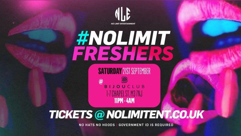 #NOLIMITFRESHERS