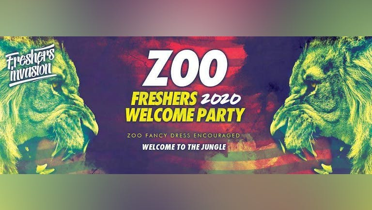 Portsmouth Freshers Welcome Party | ZOO Theme Special