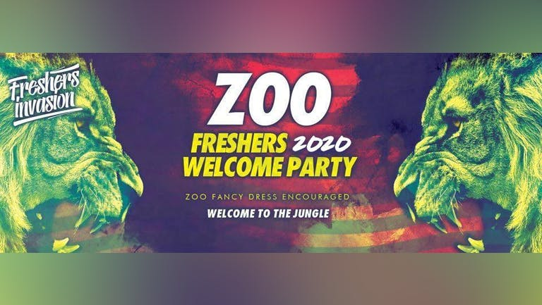 Plymouth Freshers Welcome Party | ZOO Theme Special