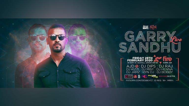 Desi Beatz presents : Garry Sandhu LIVE!