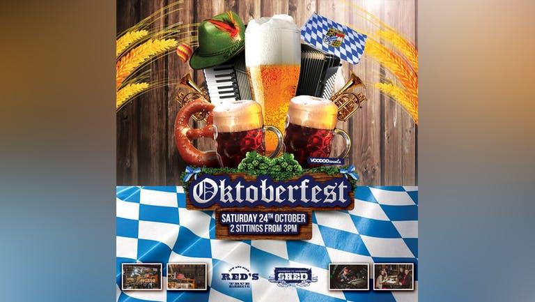 Oktoberfest Saturday @ The Shed (Reds HQ, Weaver street, LS4 2AU)