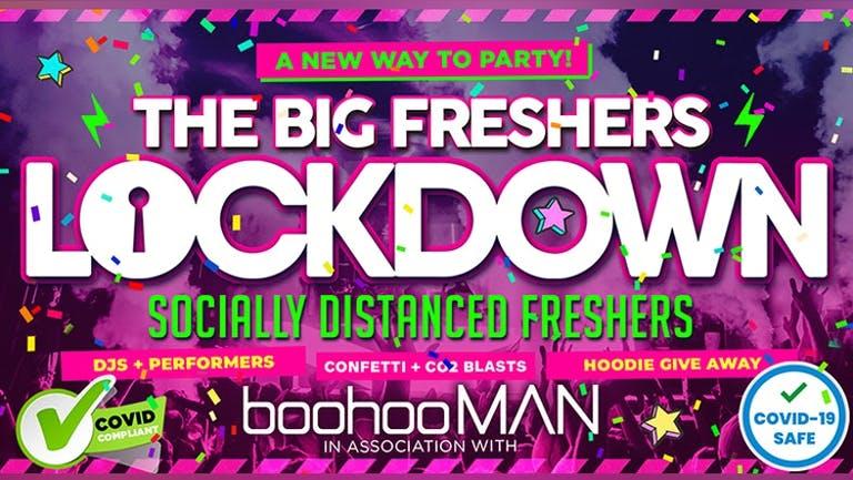 BRISTOL FRESHERS - THE BIG FRESHERS LOCKDOWN - in association with BOOHOO MAN !!