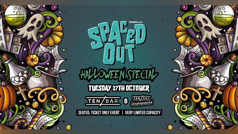 Halloween Spaced-Out @ Ten Bar & Ten Bar Underground (Formerly Space)