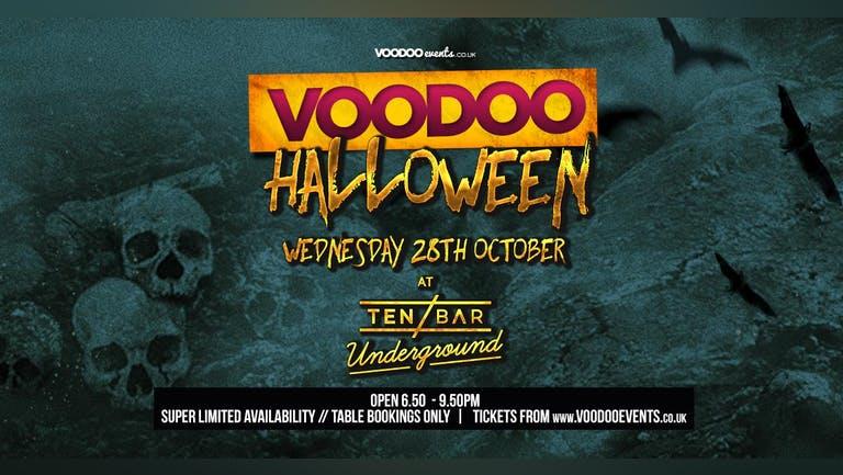 Halloween Voodoo Wednesdays @ Ten Bar Underground (Formerly Space)