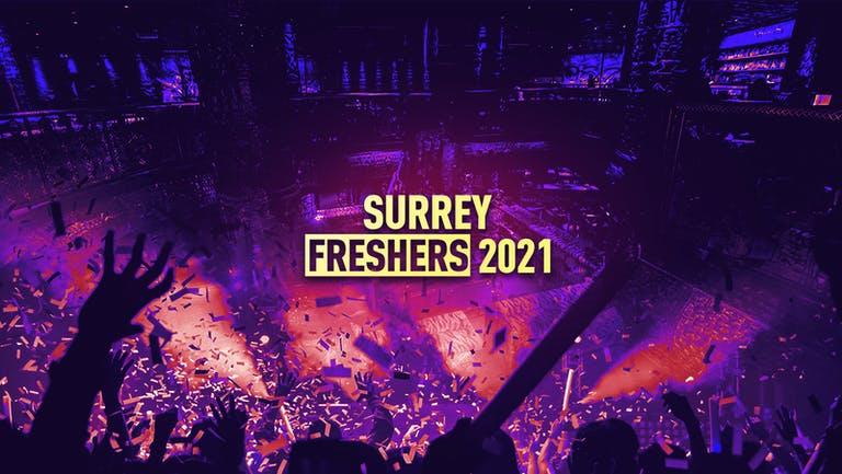 Surrey Freshers 2021 - FREE SIGN UP!