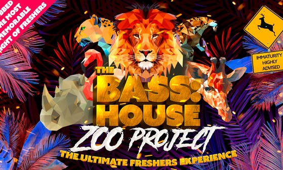 Bass:House Zoo Party Freshers Week Tours