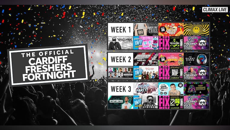 The Official Cardiff Freshers Fortnight 2020