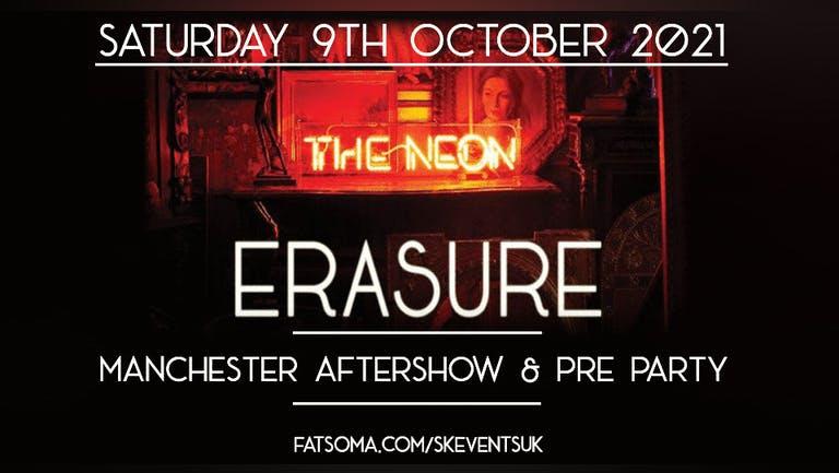 Erasure - Manchester Aftershow & Pre Party - Saturday 9th October 2021 - Lions Den, Deansgate