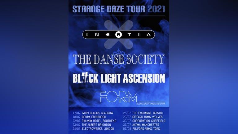 INERTIA / THE DANSE SOCIETY / BLACK LIGHT ASCENSION