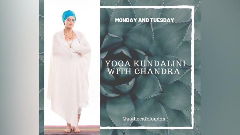 Yoga KUNDALINI with Chandra