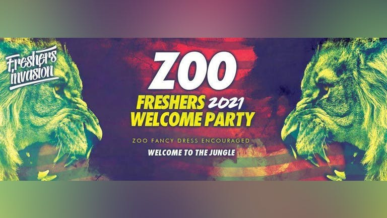 Newcastle Freshers 2021 Welcome Party   ZOO Theme Special