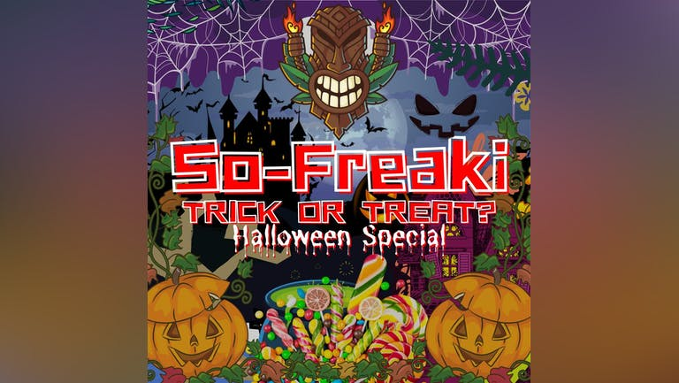SO-FREAKI! TRICK OR TREAT? HALLOWEEN SPECIAL! HUGE CANDY GIVEAWAY!