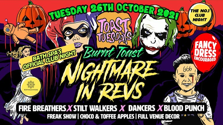 Toast Tuesdays Halloween Special - Nightmare in Revs!