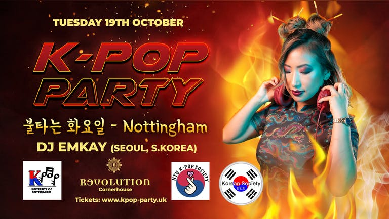 K-Pop Party Nottingham   Tuesday 19th October