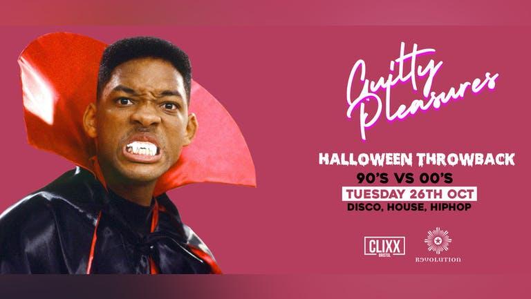 Guilty Pleasures 90's VS 00's - Halloween Throwback