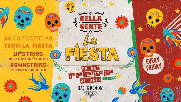 Bella Gente - La Fiesta - Reggaeton Special   Friday 22nd October