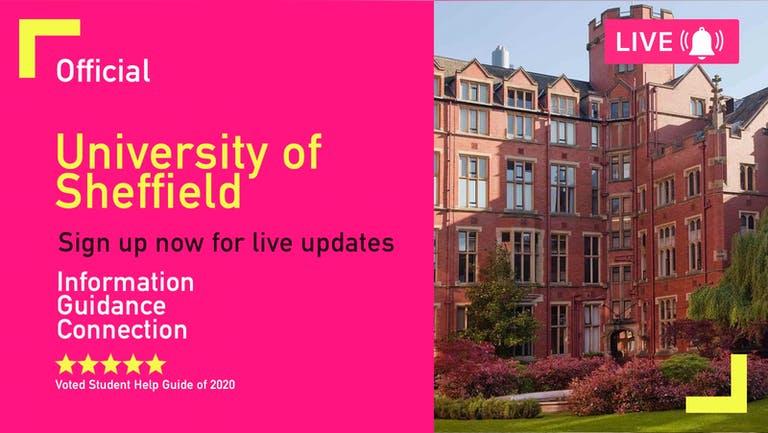 Sheffield University Freshers Week 2022 - Free Pre-Sale Registration