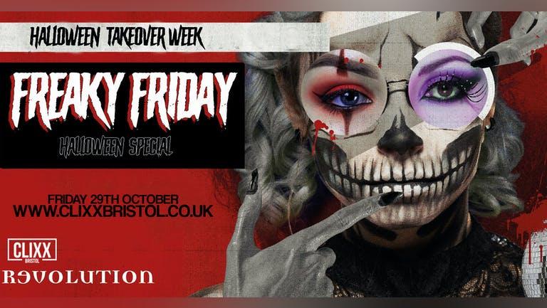 Freaky Friday // Revs Halloween Takeover