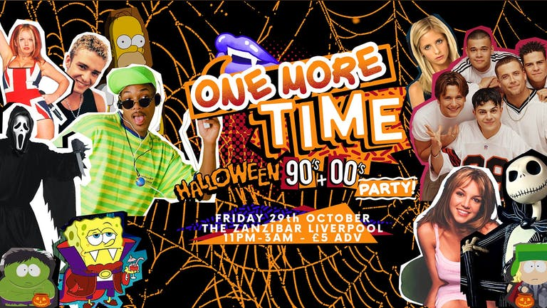 One More Time - 90's & 00's Halloween party