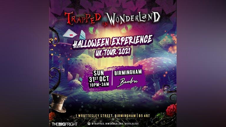 Trapped In Wonderland Halloween Experience: Birmingham