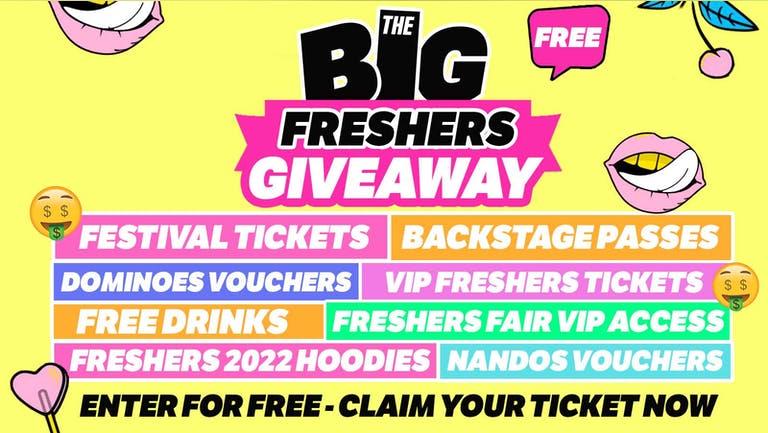 York - Big Freshers Giveaway 2022 - Enter Now!