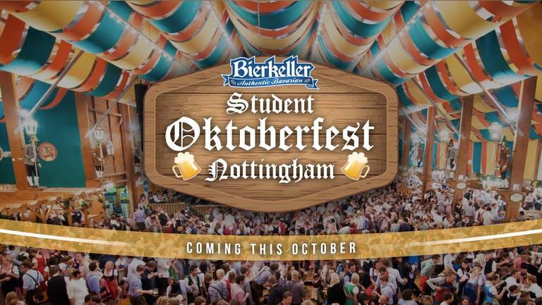 Student Oktoberfest Nottingham 2021 - 21st Oct
