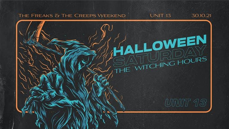 Unit 13 - Halloween Saturday