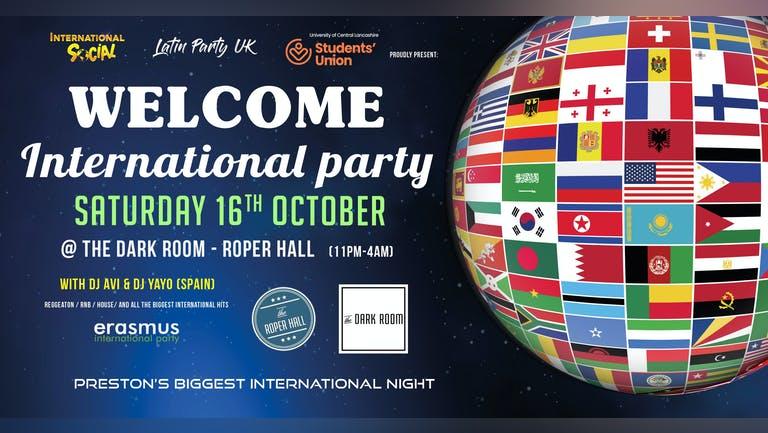 Welcome International Party - Preston
