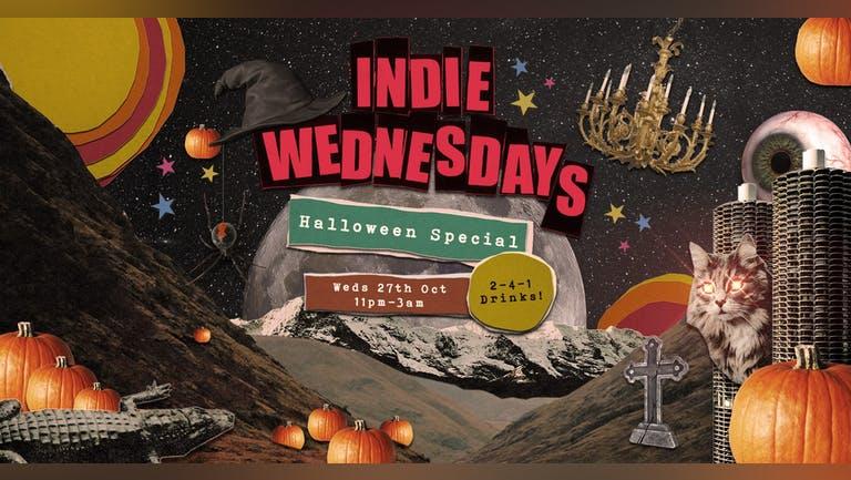 Indie Wednesdays 🕸️ Halloween Special