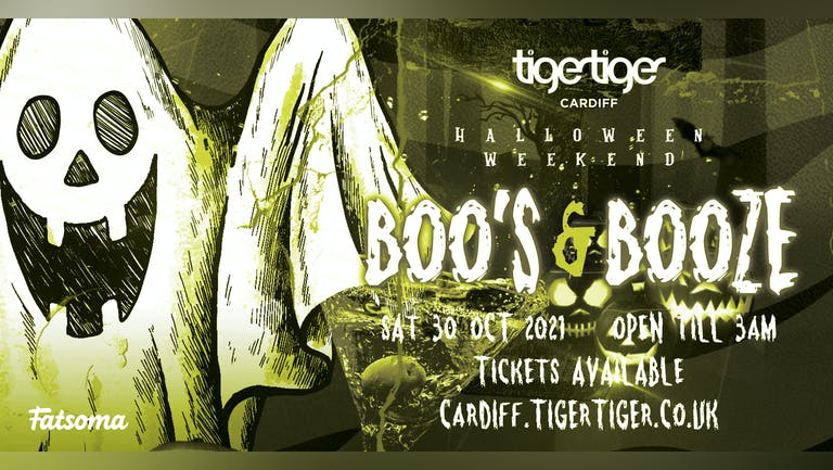 BOO'S AND BOOZE | HALLOWEEN WEEKEND AT TIGER TIGER