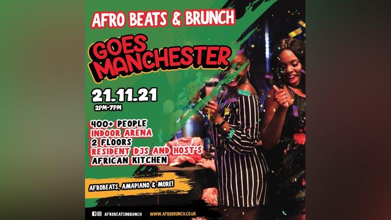 Afrobeats n Brunch - Sun 21st Nov MANCHESTER UK TOUR