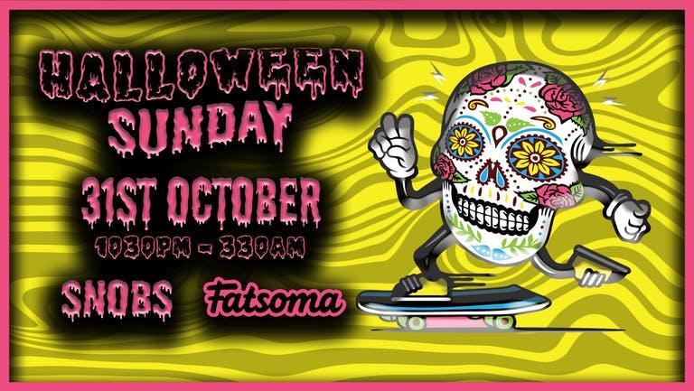 HALLOWEEN SUNDAY 31st October