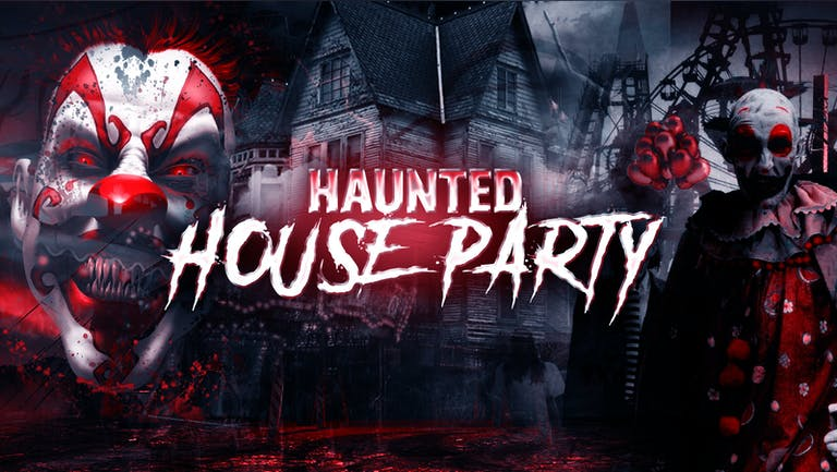The Haunted House Party   Sheffield Halloween 2021 - First 300 Tickets £1!