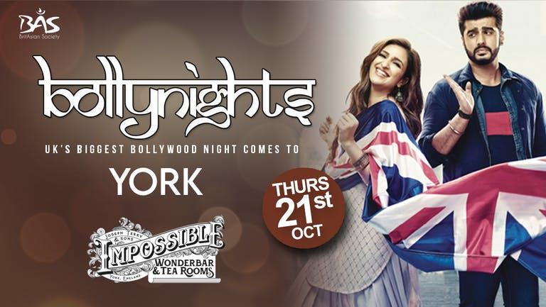 Bollynights York: Thursday 21st October