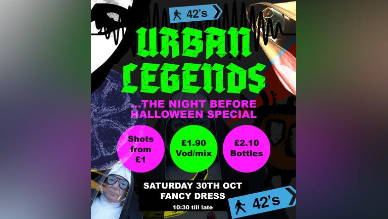 Urban Legends...the night before