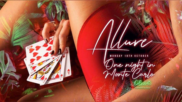 Allure   One Night in Monte Carlo   18th Oct