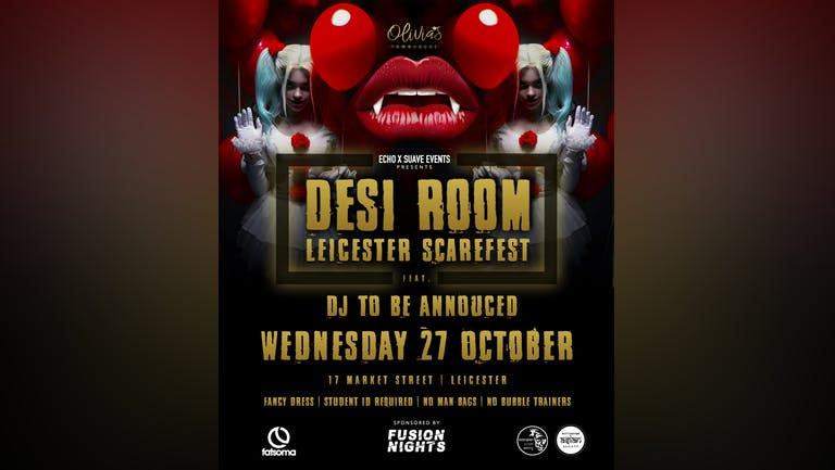 Desi Room Leicester Halloween Special